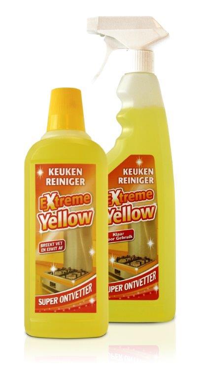 Extreme Yellow Keukenreiniger Set